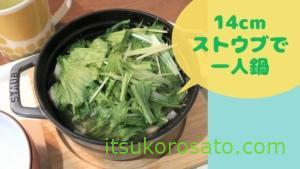 【14cmSTAUB】寒い冬の一人鍋におすすめサイズのストウブです!